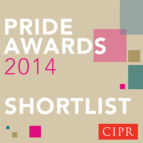 Prohibition shortlisted for 2014 CIPR 'Outstanding Small Agency' award