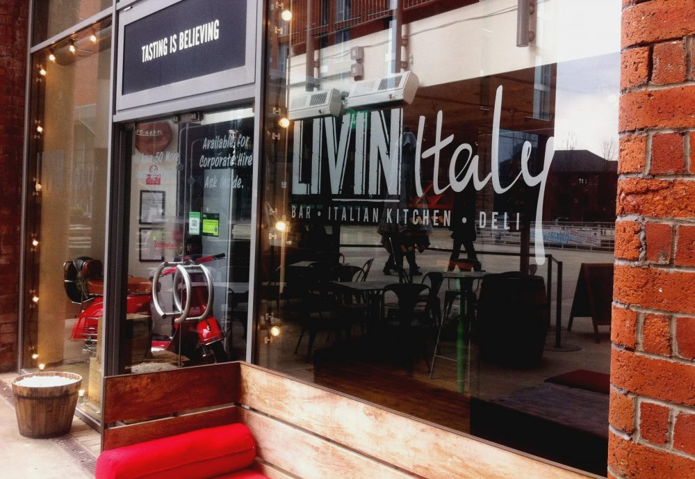 Bringing a taste of Italy, to the Leeds Rivera