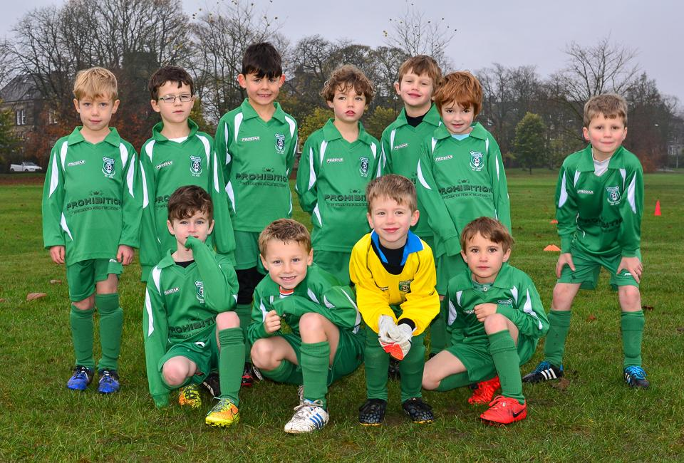 Pannal Sports scores with Prohibition sponsorship