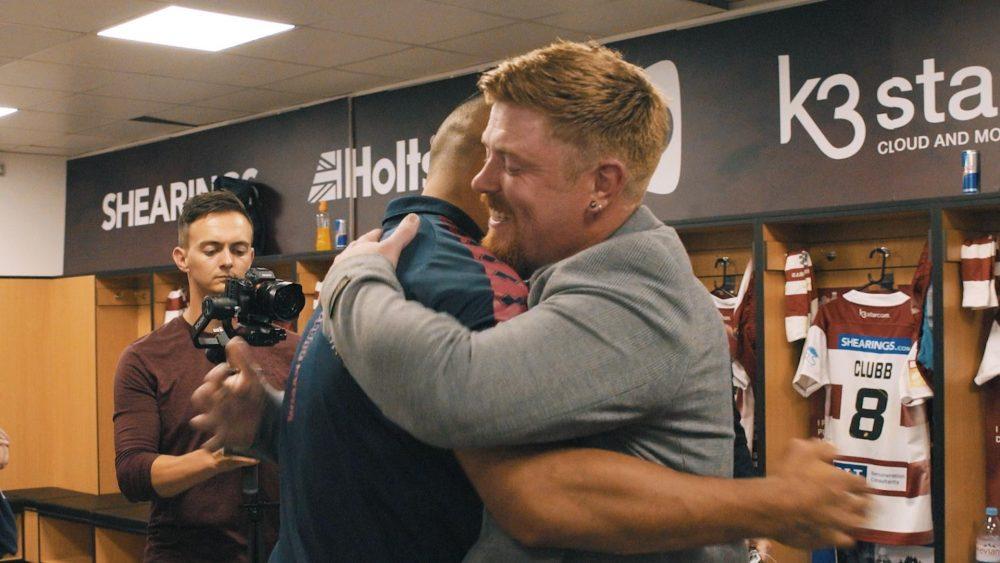 Sealy makes 'Dream come true' for Wigan Warriors superfan