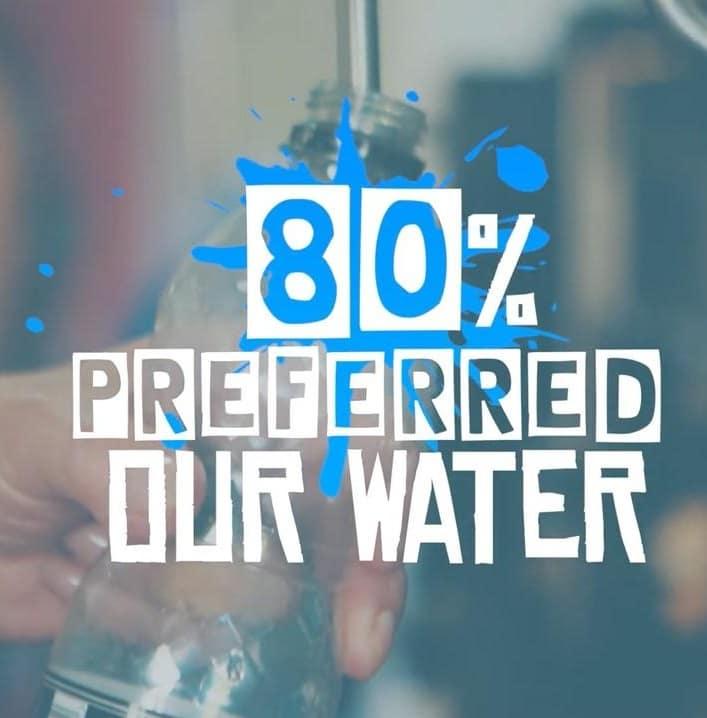 Yorkshire Water's taste test