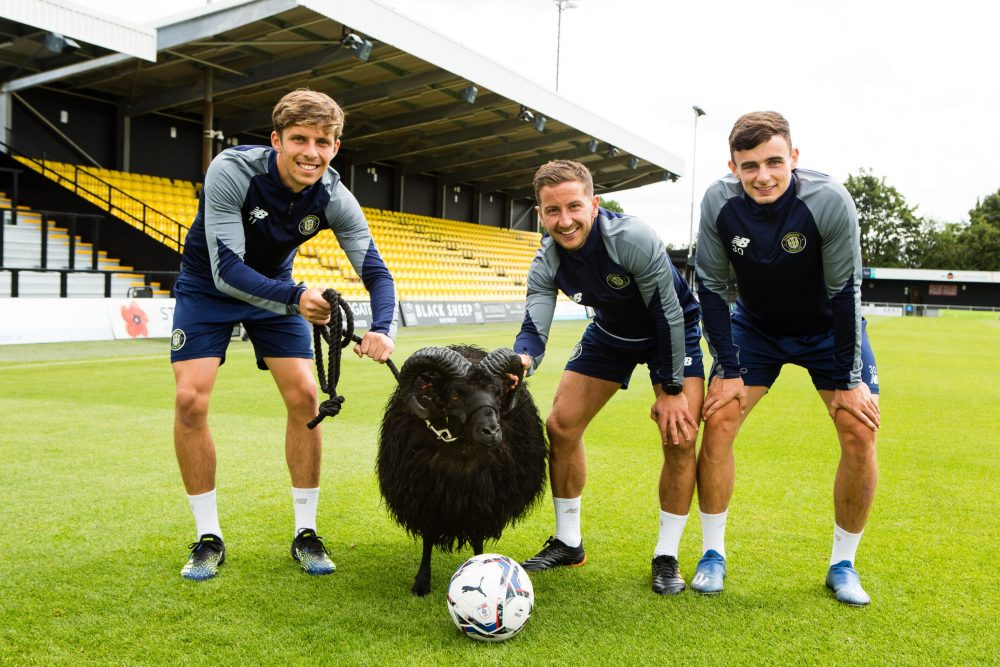 Supporting Black Sheep Brewery to announce major football team sponsorship